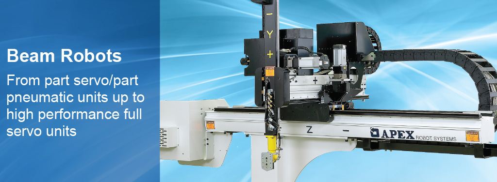 Beam Robots - from entry level to sophisticated full servo automation